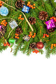 istock Christmas background. Eve framework 489542793