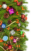 istock Christmas background. Eve framework 489542799