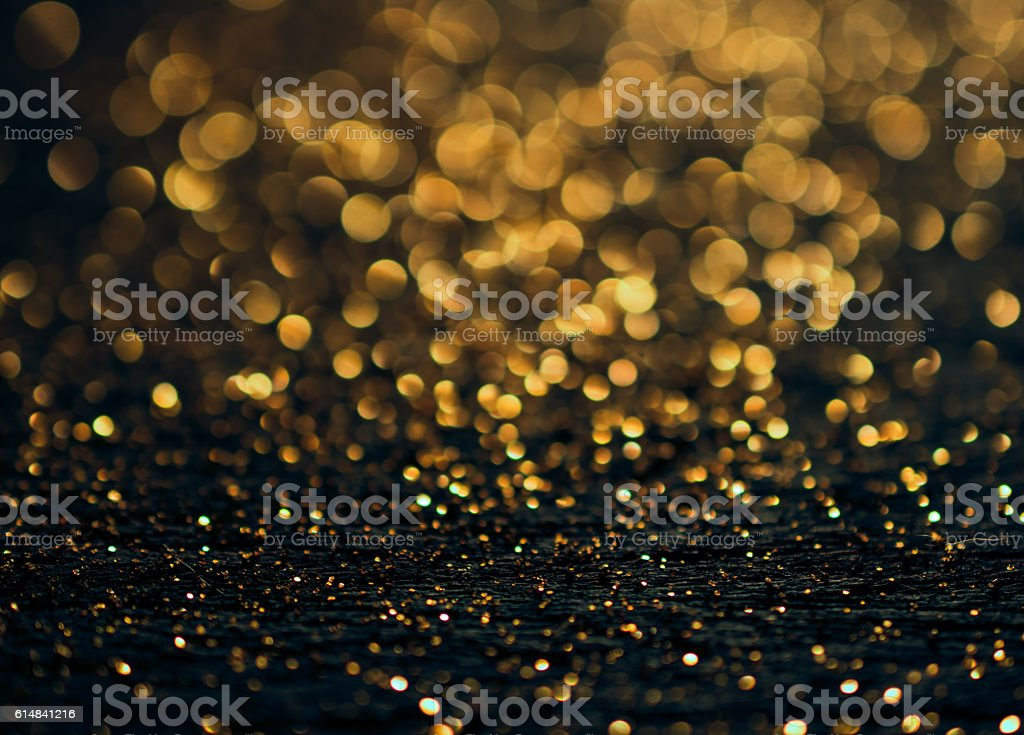 Christmas background. Festive abstract background with bokeh def stock photo