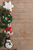 Christmas, Cookie, Food, Gingerbread Cookie