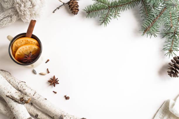 kerst achtergrond - gluhwein stockfoto's en -beelden