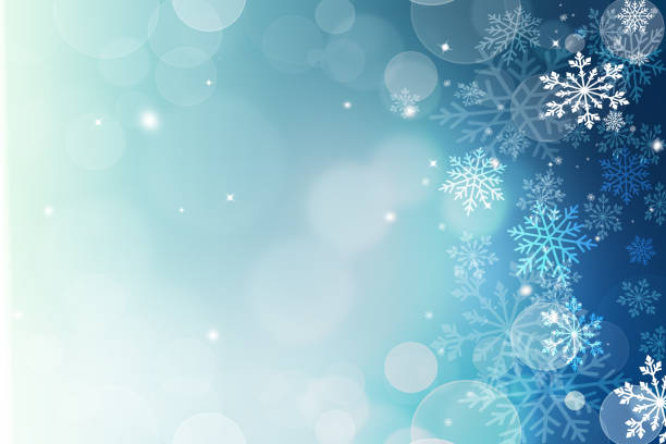 fondo navideño - invierno fotografías e imágenes de stock