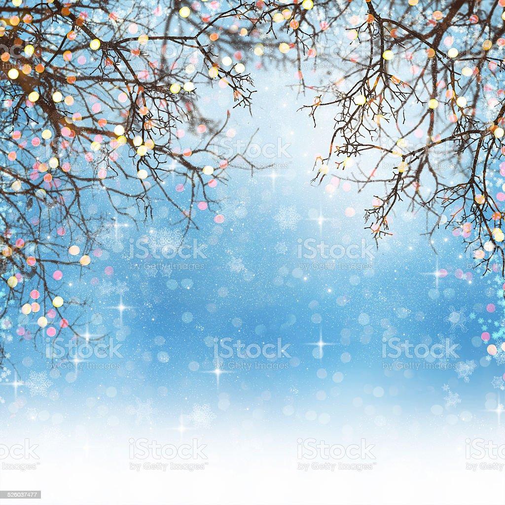 Christmas background. stock photo