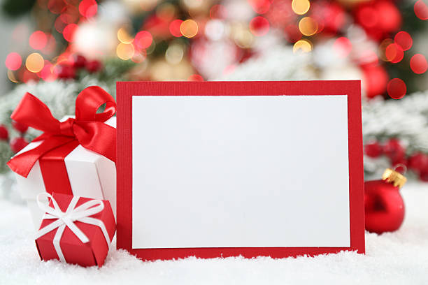 クリスマスの背景  ストックフォト