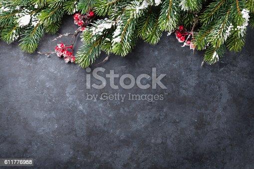 istock Christmas background 611776988