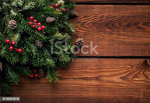 istock Christmas background 876994816