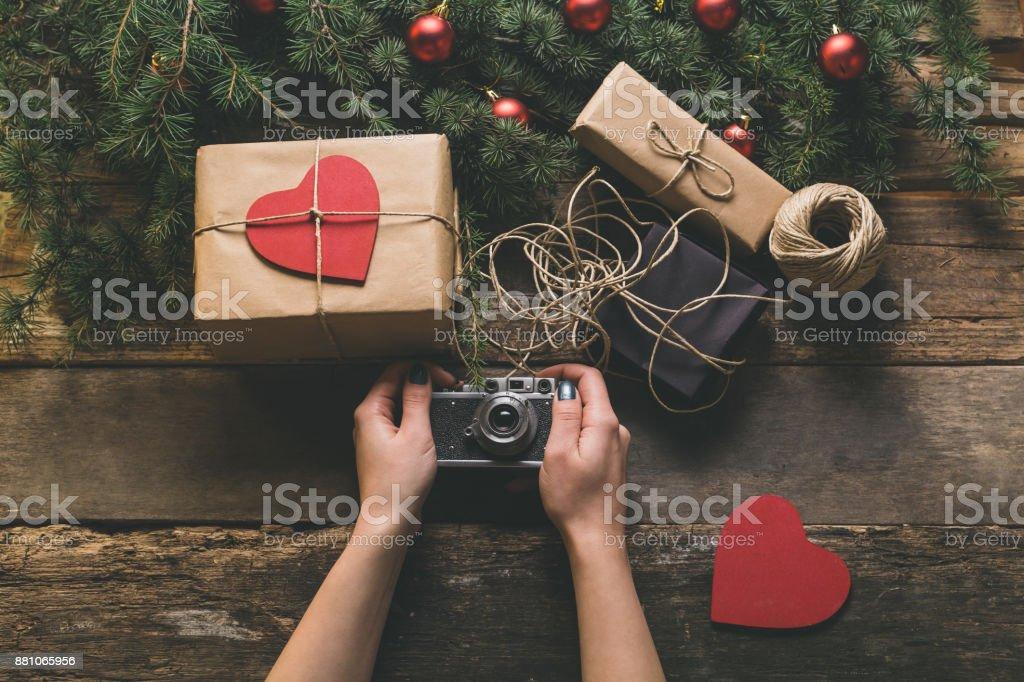 Fondo de Navidad  - foto de stock
