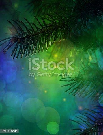 istock Christmas background 891765842