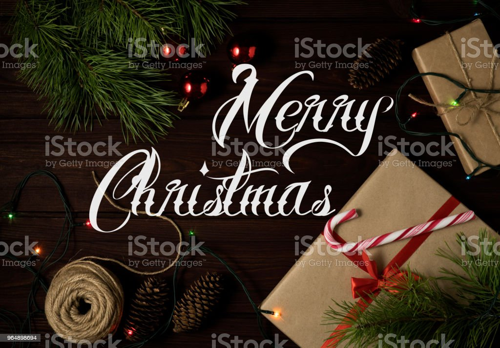 Christmas background. royalty-free stock photo