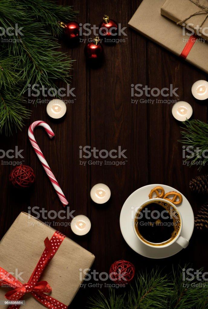 Christmas background. royalty-free stock photo