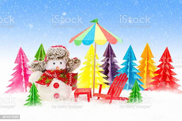 Christmas tree lounger