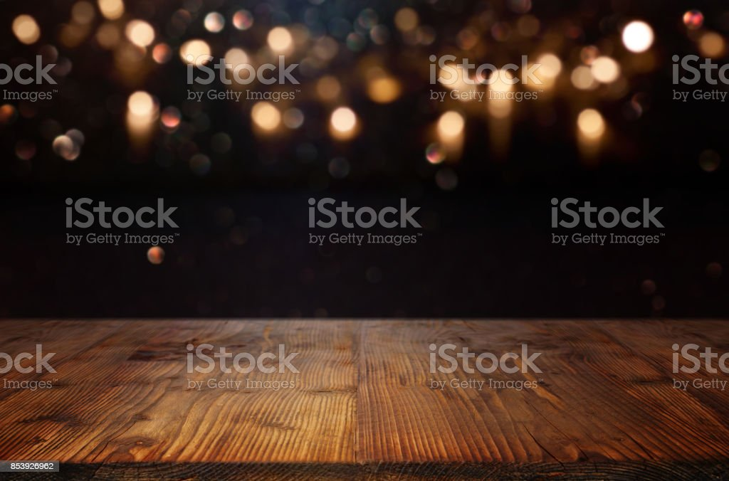 Christmas background with bokeh effects - Foto stock royalty-free di Astratto