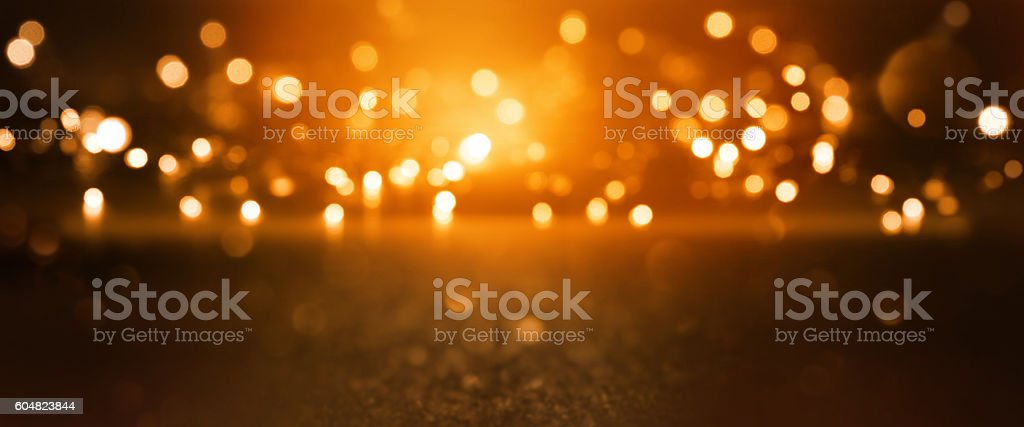 Christmas background with bokeh stock photo