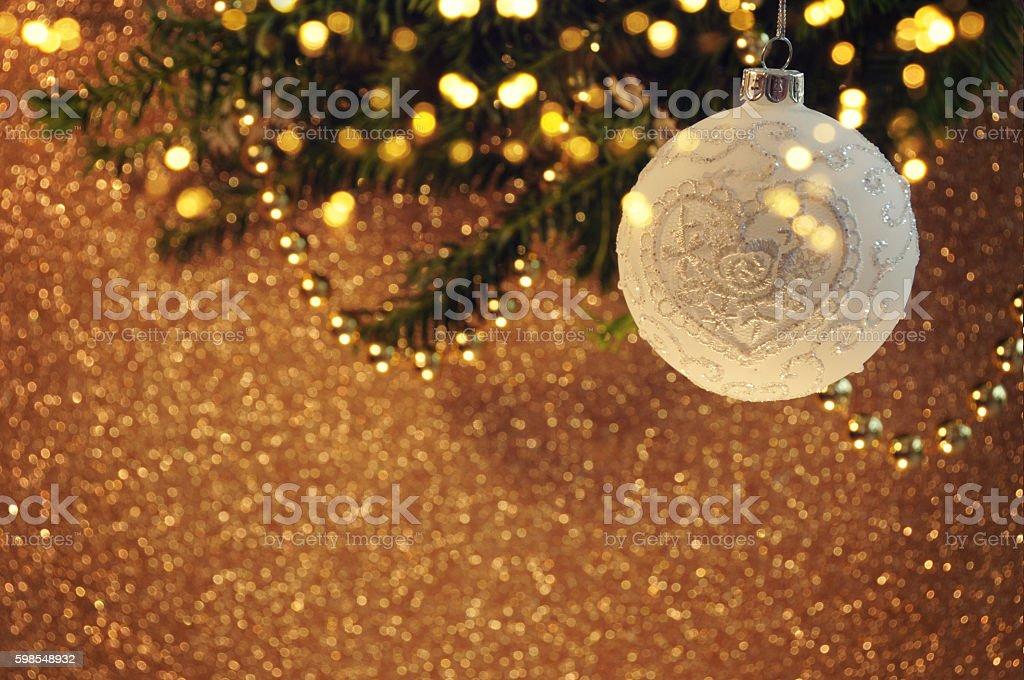 Christmas background with bubble photo libre de droits