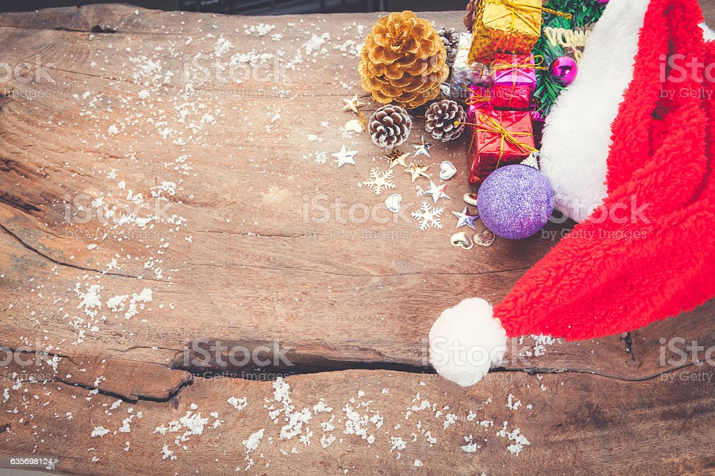 Christmas background with christmas ball, royalty-free stock photo