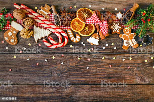 Christmas background with christmas cookies decoration and spices picture id618556686?b=1&k=6&m=618556686&s=612x612&h=fcw6fa74izqf1dafmchr u1hkpbb4do7txzautqojm8=