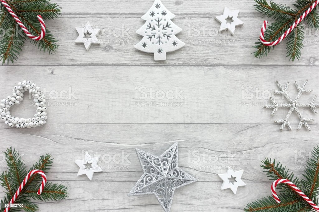 Christmas Background with Christmas Decoration royalty-free stock photo