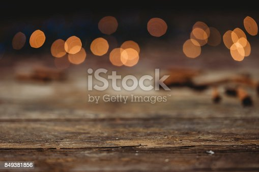 istock Christmas background with copy space 849381856