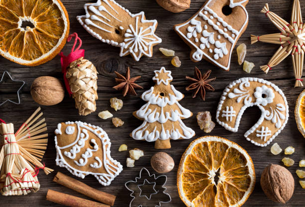 Best Traditional Czech Christmas Cookies Stock Photos Pictures