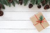 istock Christmas background with decoration 1046387484
