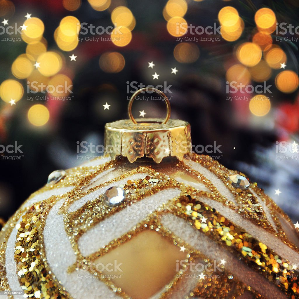Christmas background with decoration royaltyfri bildbanksbilder