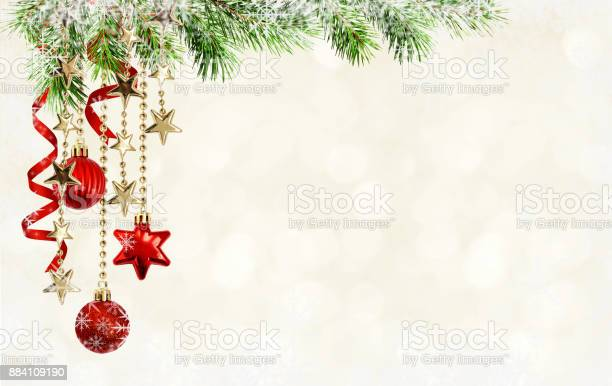 Christmas background with green pine twigs hanging red decorations picture id884109190?b=1&k=6&m=884109190&s=612x612&h=gshmhns0gkyefszsg6ttgomob1zqssm5gkhjcohq2z0=