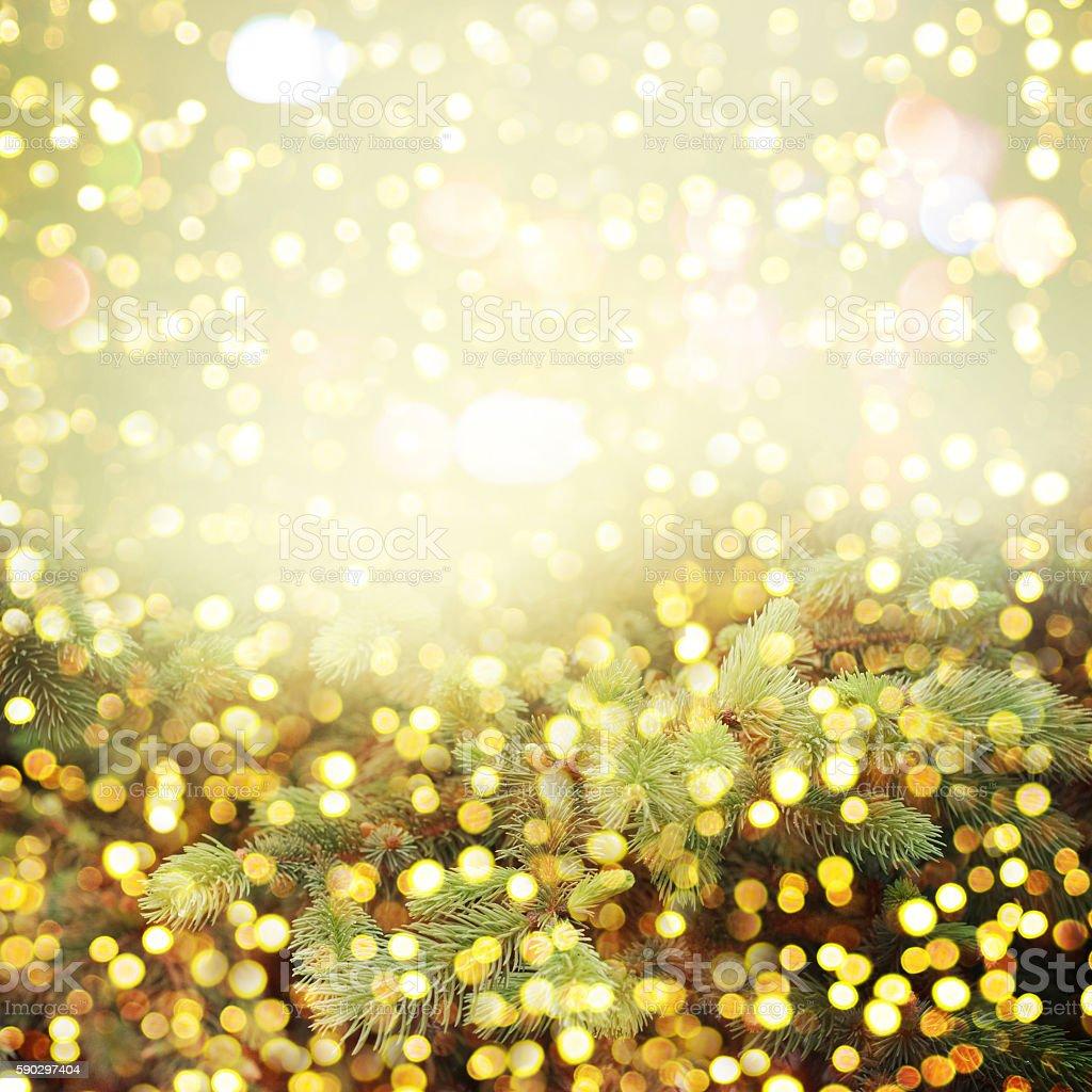 Christmas background with shining lights royaltyfri bildbanksbilder
