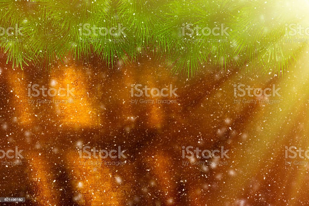 Christmas Backgrounds with snowing foto stock royalty-free