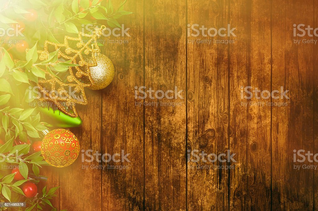 Christmas Backgrounds with sunbeam foto stock royalty-free