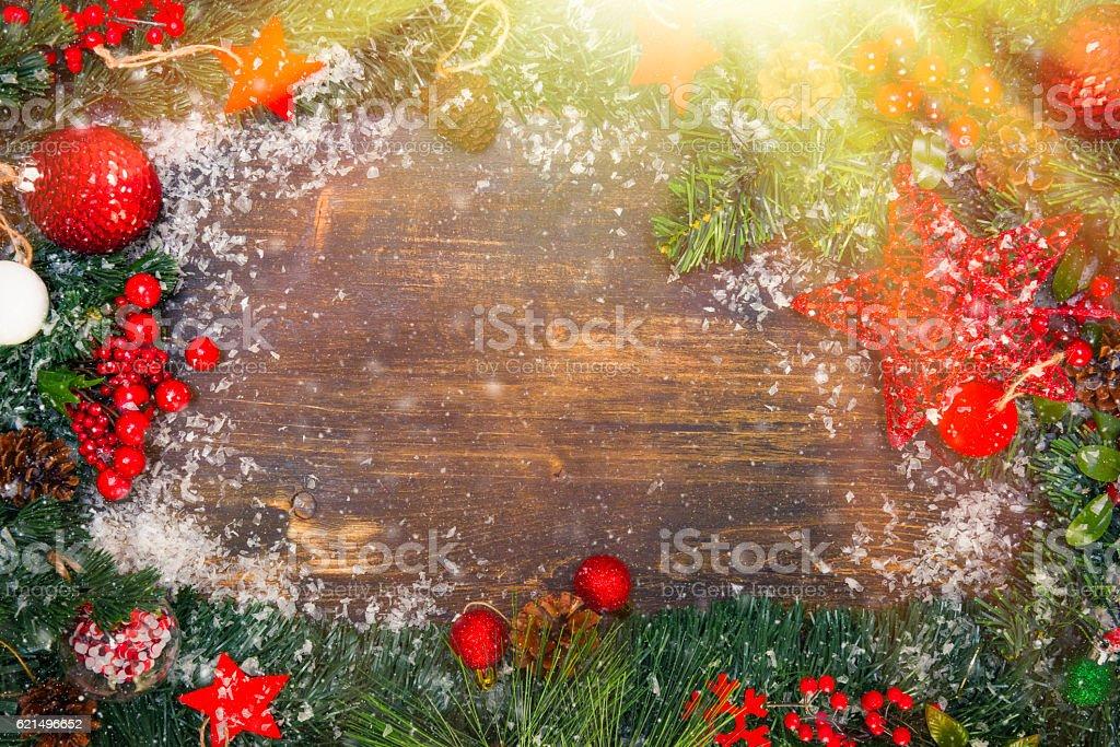 Christmas Backgrounds with sunbeam Lizenzfreies stock-foto