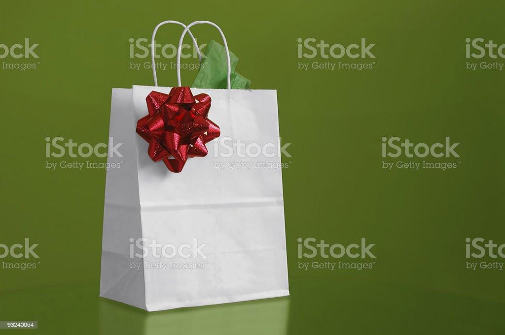 Christmas bag royalty-free stock photo