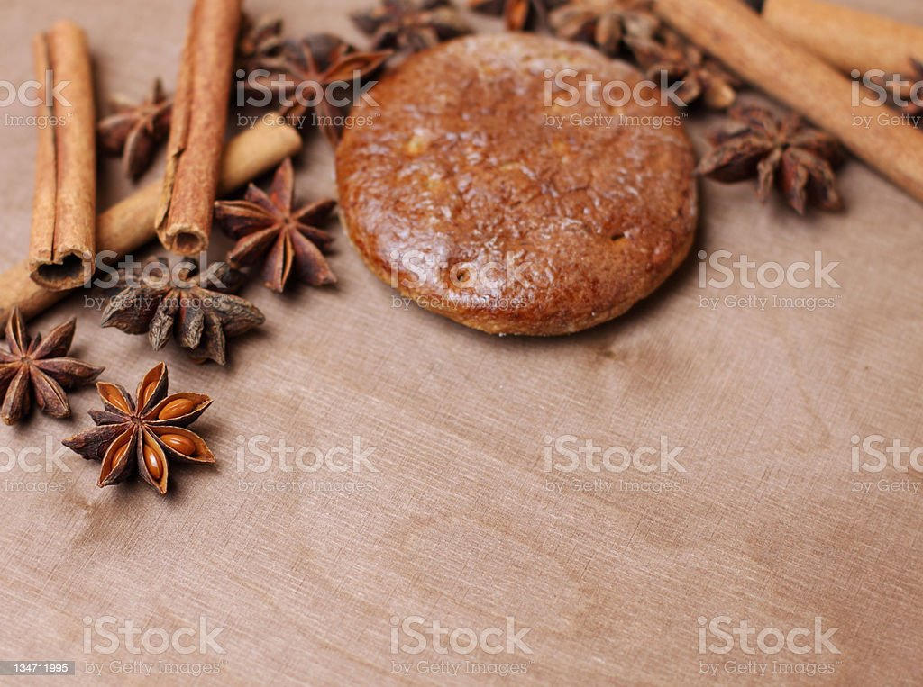 christmas bakery stock photo