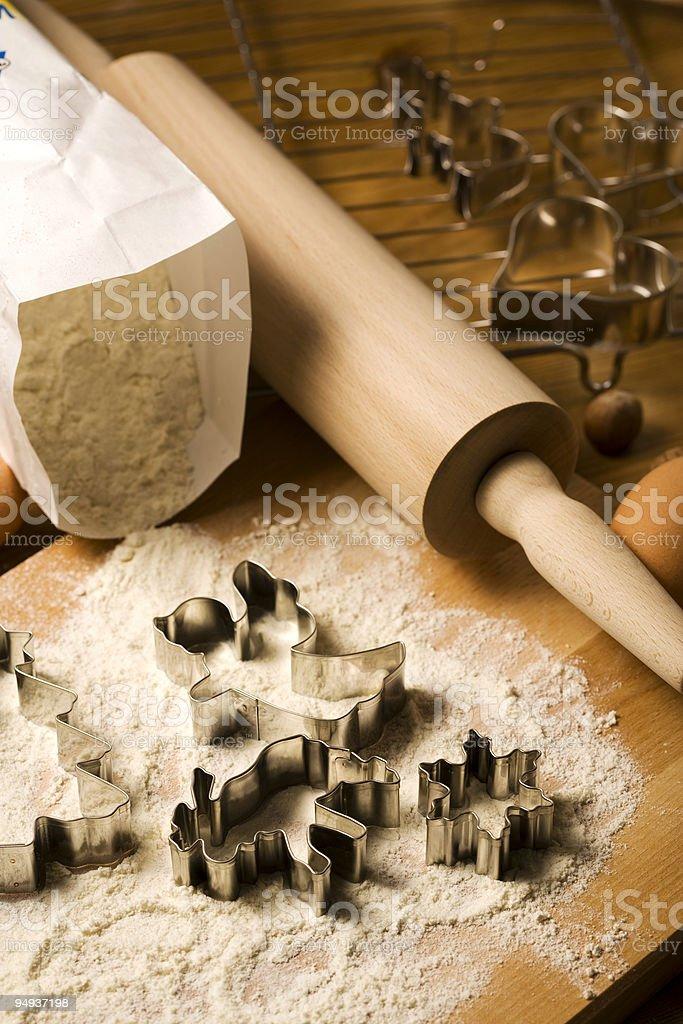 christmas bakery  Baking Stock Photo