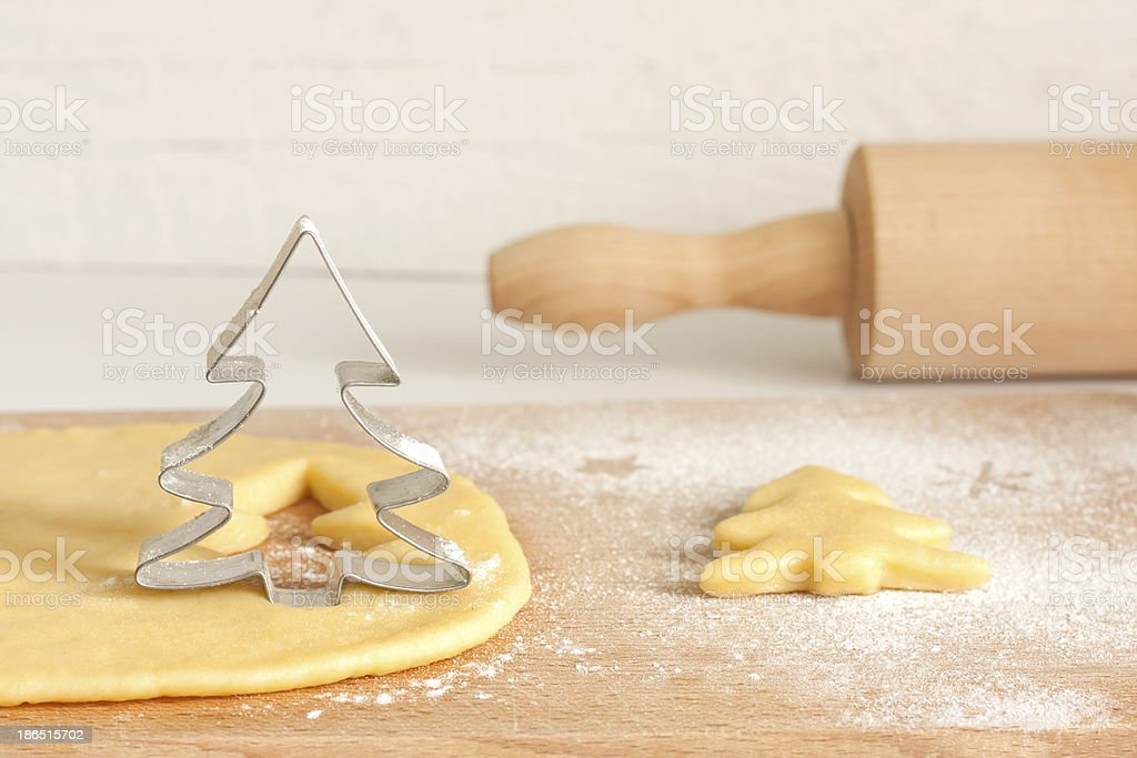 Christmas baking food concept royalty-free stock photo