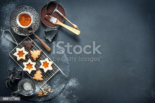 istock Christmas baking 589127364