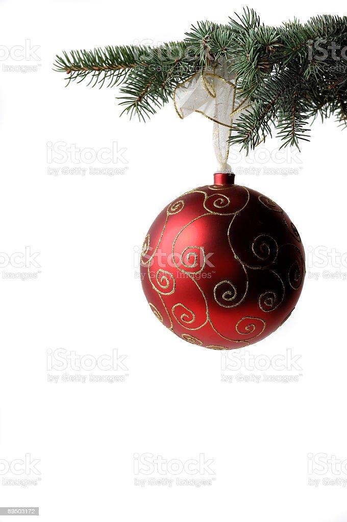 christmas ball 142 stock photo