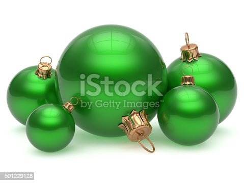 1063751940istockphoto Christmas ball adornment decoration green New Year's Eve 501229128