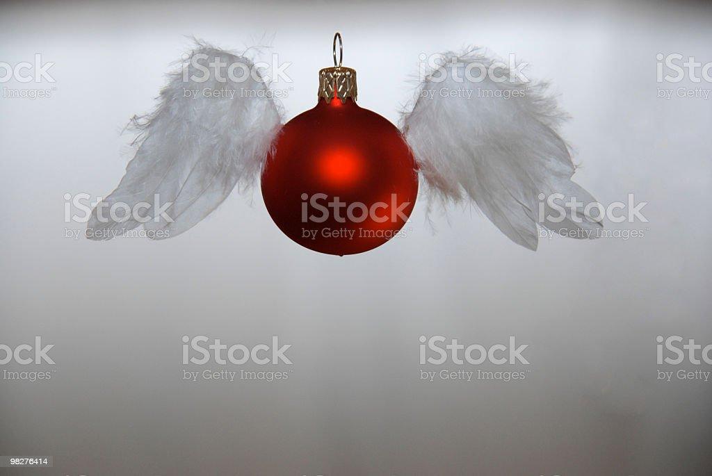 크리스마스 볼 것을 위장된 하나의 안젤 royalty-free 스톡 사진