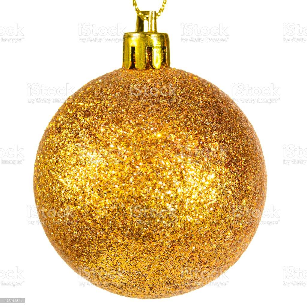 christmas ball closeup stock photo