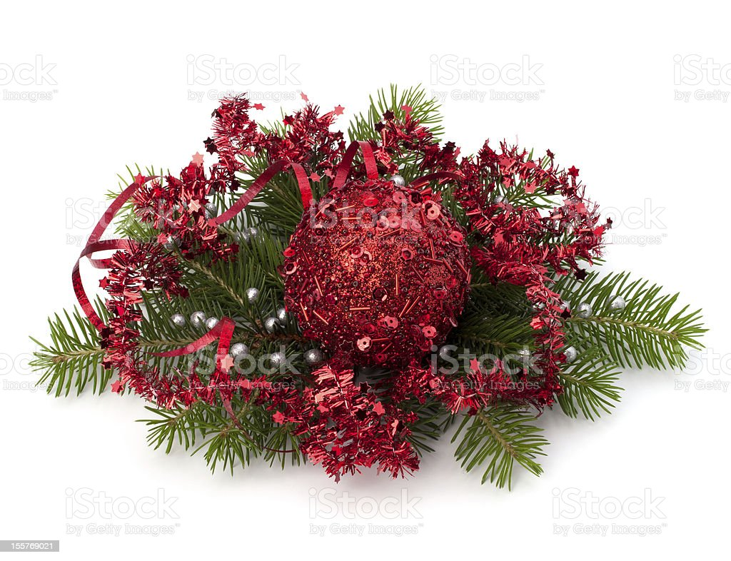 Christmas ball decoration royalty-free stock photo