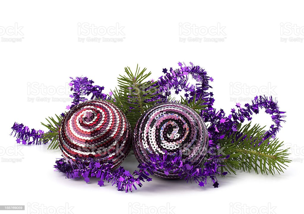 Christmas ball decoration royalty-free stock photo