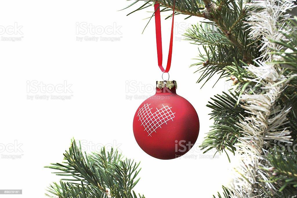 Christmas Ball II royalty-free stock photo