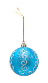 istock Christmas ball isolated on white background 174767093