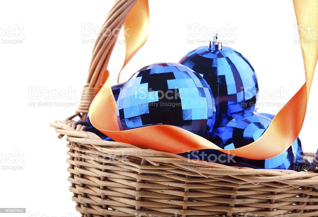 Christmas ball isolated royalty-free stock photo