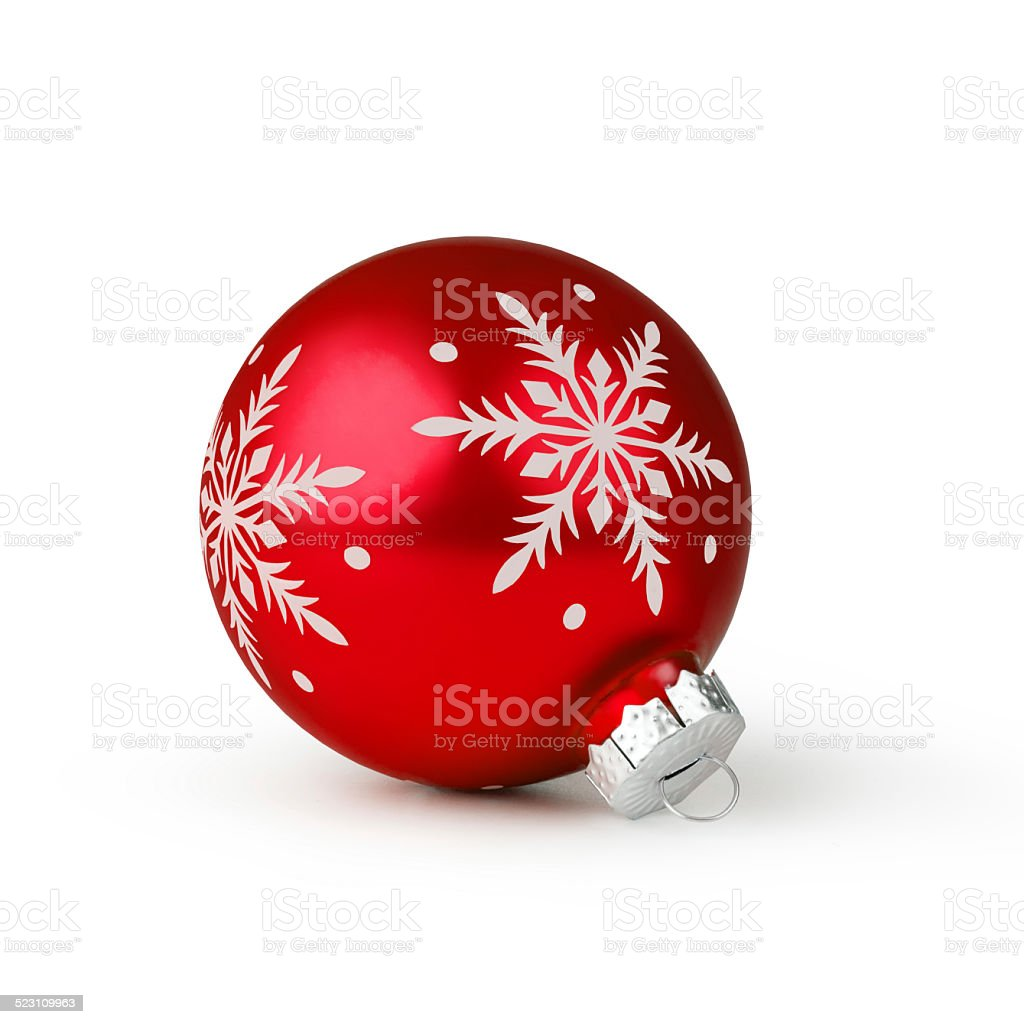 christmas ball stock photo