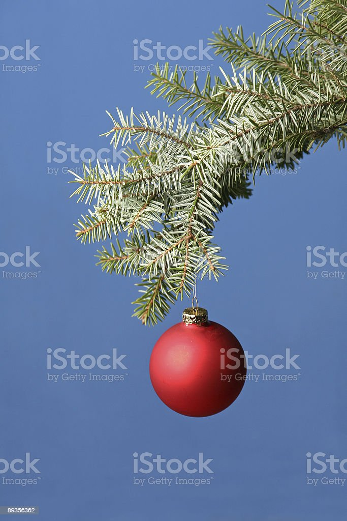 Christmas ball royalty free stockfoto