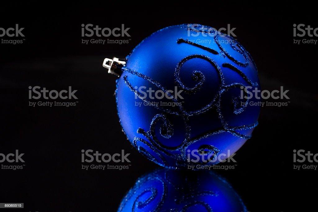 Christmas ball royaltyfri bildbanksbilder