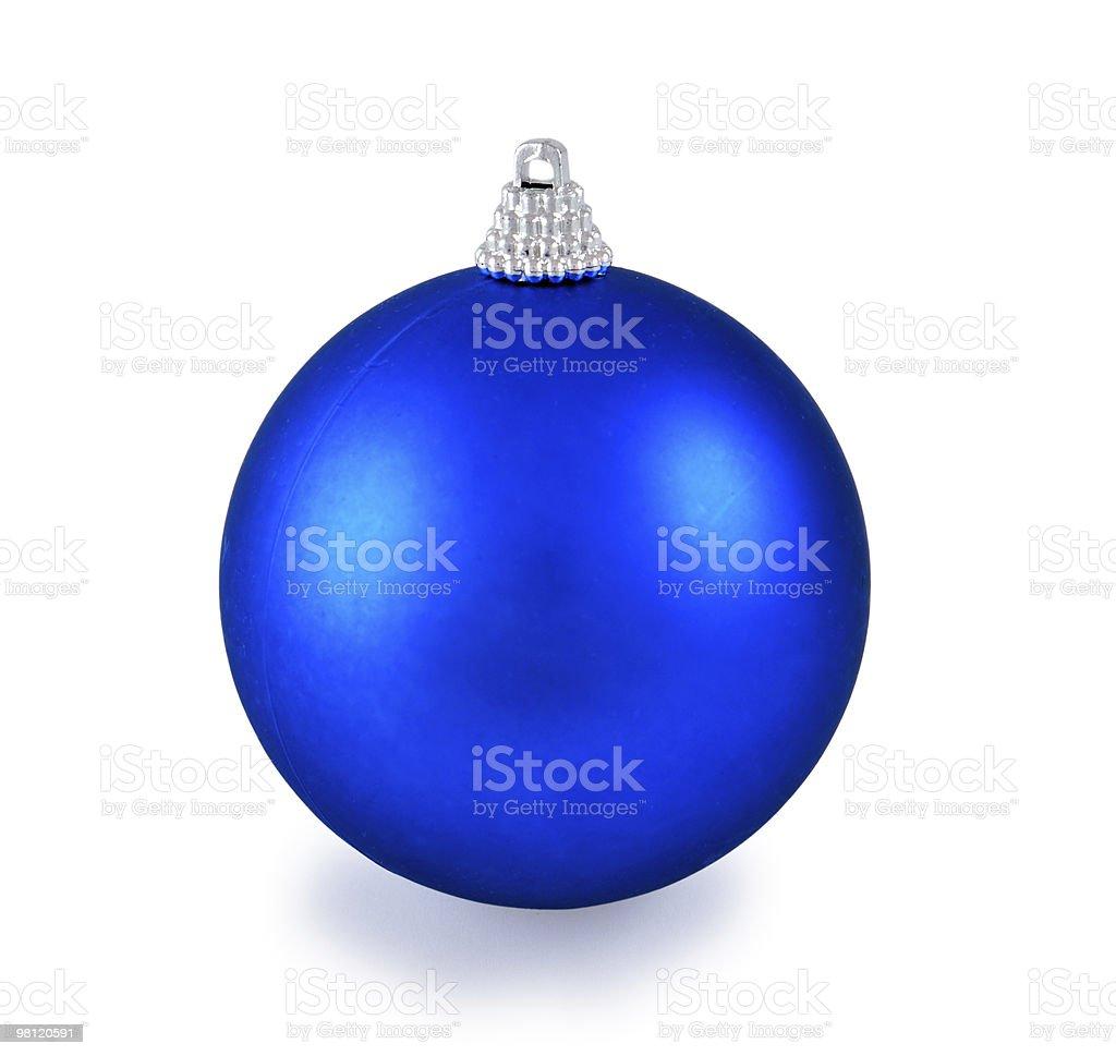 Palla di Natale foto stock royalty-free