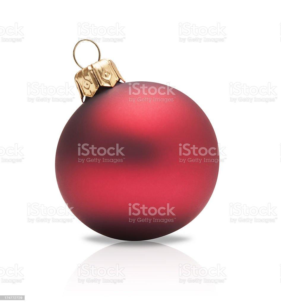Christmas ball Tree stock photo