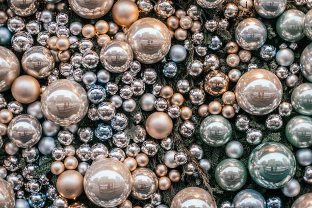 Weihnachten Kugeln Hintergrund – Foto